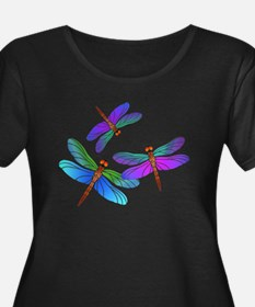 Dive Bombing Iridescent Dragonflies T