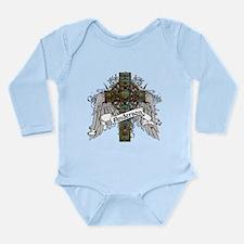 Anderson Tartan Cross Long Sleeve Infant Bodysuit
