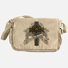 Anderson Tartan Cross Messenger Bag