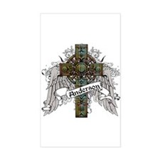 Anderson Tartan Cross Decal