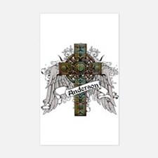Anderson Tartan Cross Decal