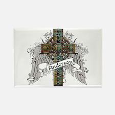 Anderson Tartan Cross Rectangle Magnet