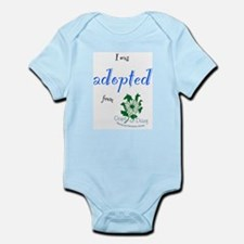 I was Adopted from Oops-a-Dazy Infant Bodysuit