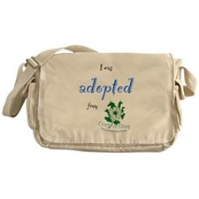 I was Adopted from Oops-a-Dazy Messenger Bag