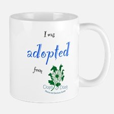 I was Adopted from Oops-a-Dazy Mug