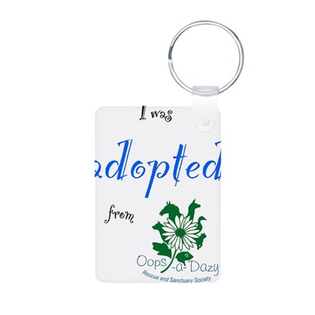 I was Adopted from Oops-a-Dazy Aluminum Photo Keyc