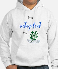 I was Adopted from Oops-a-Dazy Hoodie