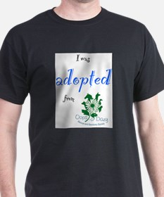 I was Adopted from Oops-a-Dazy T-Shirt