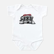 KiniArt Schnauzer Infant Bodysuit