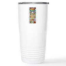 Mayan Stela Travel Mug