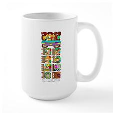 Mayan Stela Mug