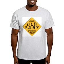 Old Fart Ash Grey T-Shirt