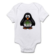 Blair Tartan Penguin Infant Bodysuit