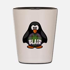 Blair Tartan Penguin Shot Glass