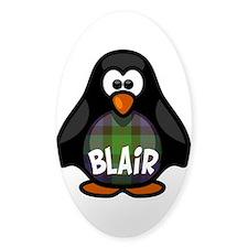 Blair Tartan Penguin Decal