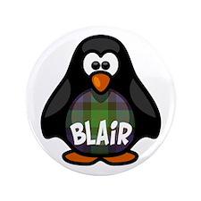 """Blair Tartan Penguin 3.5"""" Button"""