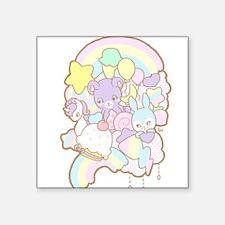 "Rainbow Parade Square Sticker 3"" x 3"""