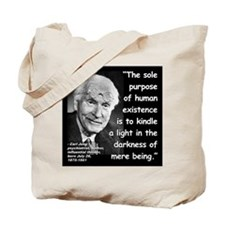 Jung Purpose Quote 2 Tote Bag