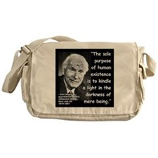 Jung Purpose Quote 2 Messenger Bag