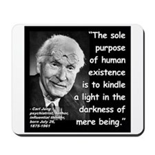 Jung Purpose Quote 2 Mousepad