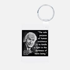 Jung Purpose Quote 2 Keychains