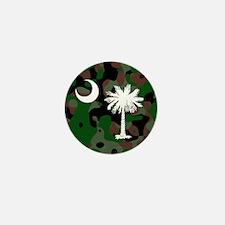 SC Palmetto Moon Mini Button