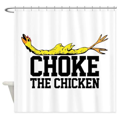 Choke The Chicken, BEAT Carolina Shower Curtain