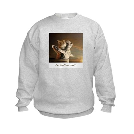 Titanic Cats Kids Sweatshirt