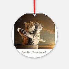 Titanic Cats Ornament (Round)