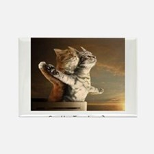 Titanic Cats Rectangle Magnet