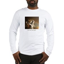 Titanic Cats Long Sleeve T-Shirt