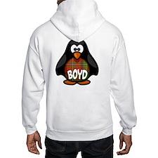 Boyd Tartan Penguin Hoodie