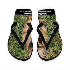 Marijuana is Addictive Flip Flops