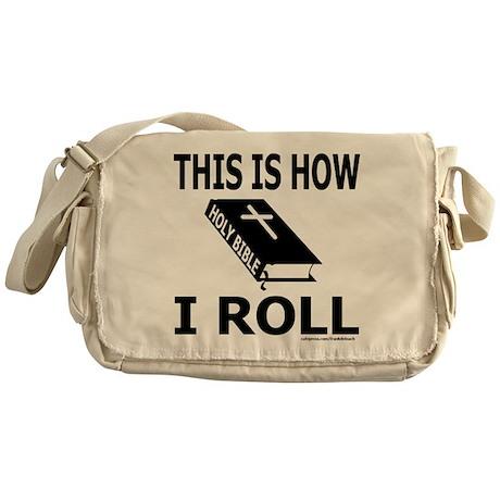 HOLY BIBLE Messenger Bag