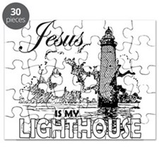 JESUS IS MY LIGHTHOUSE Puzzle