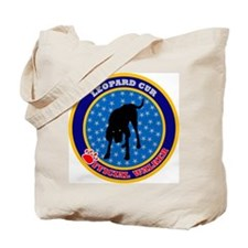 Leopard Cur Tote Bag