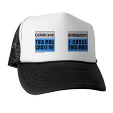 Cute Calvinism Trucker Hat