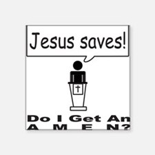 "AMEN Square Sticker 3"" x 3"""