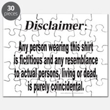 FUNNY DISCLAIMER Puzzle