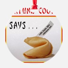 Cute Chinese proverbs Ornament