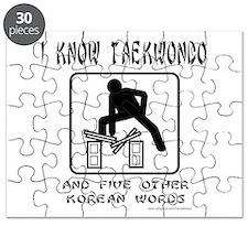 IKnowTaeKwonDo.png Puzzle