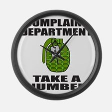 ComplaintDepartment.png Large Wall Clock