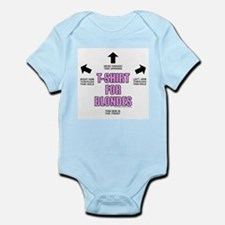 T-ShirtForBlondes.png Infant Bodysuit