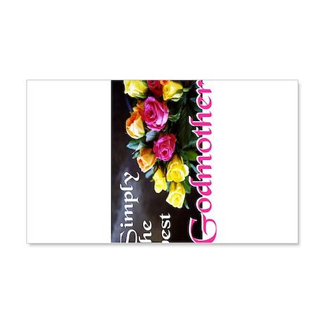SimplyBestGodmotherJournal.png 20x12 Wall Decal