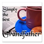 SimplyTheBestGrandfatherCoffeeCup.png Square Car M
