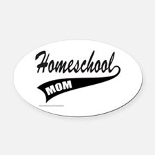 HOMESCHOOL Oval Car Magnet