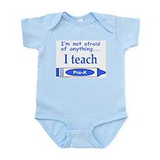 ITeachPreKBlue.png Infant Bodysuit