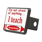 ITeachSecondGradeRed.png Rectangular Hitch Cover