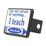 ITeachThirdGradeBlue.png Rectangular Hitch Cover