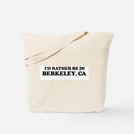 Rather: BERKELEY Tote Bag